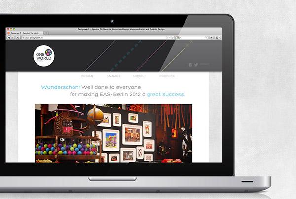 ONE WORLD STUDIO // WEBSITE