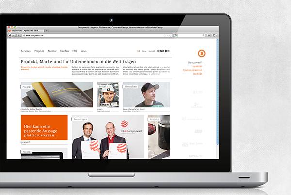 DESIGNWERFT // WEBSITE